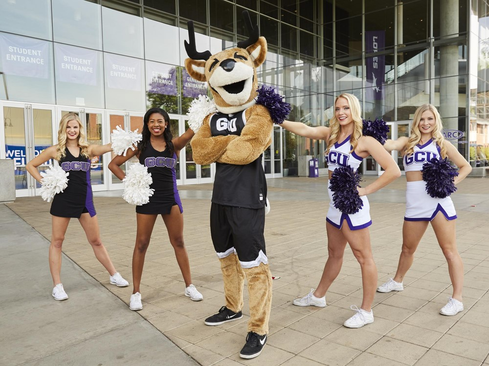 Cheerleaders Grand Canyon University Athletics