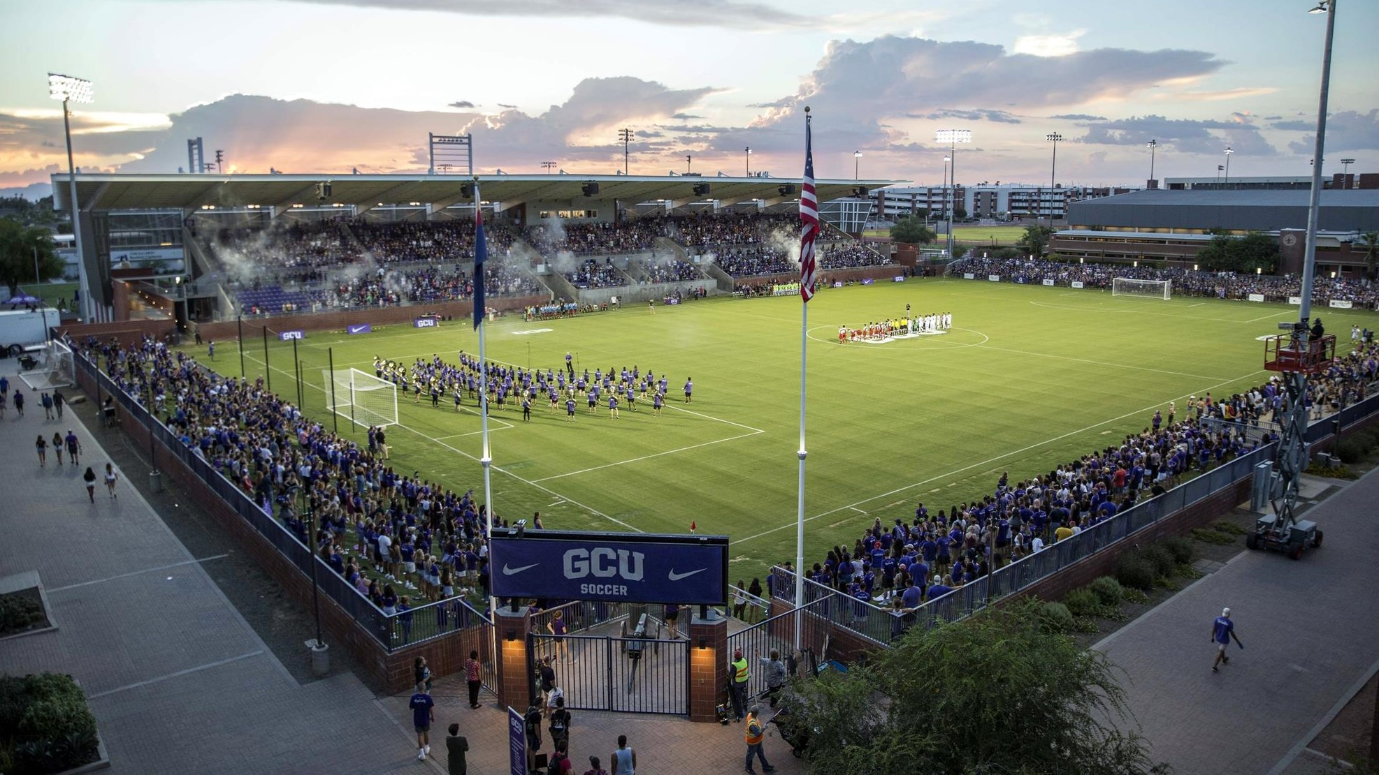 Gcu Stadium Facilities Grand Canyon University Athletics